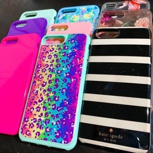 Kate Spade, floral, more! iPhone 8 plus lot